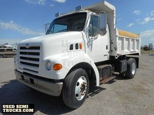1999 Ford Dump Truck 185hp CAT Hot Shift Automatic Transmission.
