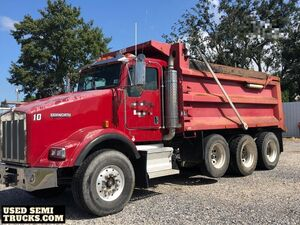 Used 2006 Kenworth T800 Dump Truck 430hp Cat C13 Eaton 8LL.