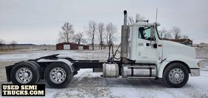 Fully Deleted 2006 International 9400 Day Cab / Low Mileage Semi Truck.