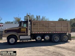 1999 International Eagle Quad-Axle Dump Truck Detroit Series 60.