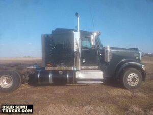 Ready to Haul 2007 International 9900IX Sleeper Cab Semi Truck.
