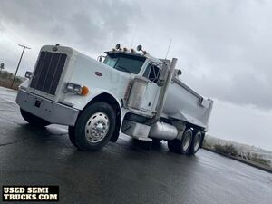 1995 Peterbilt 379 AR400 Rock Box Dump Truck 450hp Cat 3406.